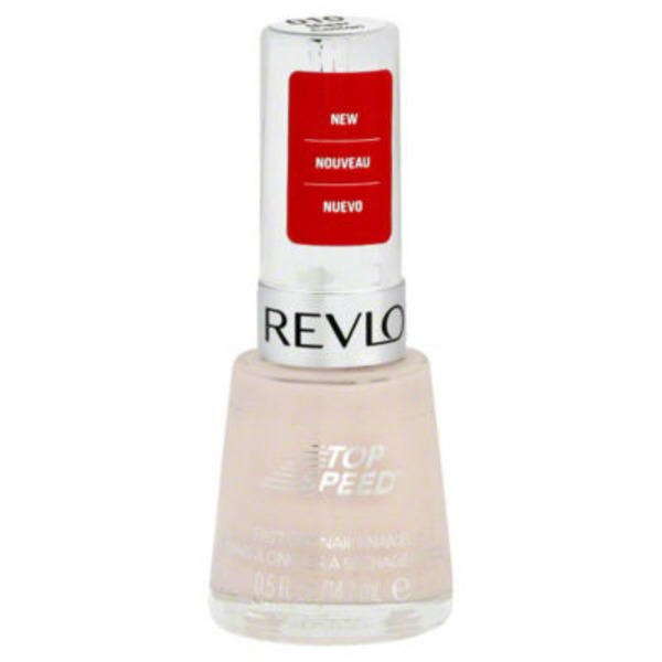 Revlon Top Speed Nail Enamel - Sheer Cotton 010