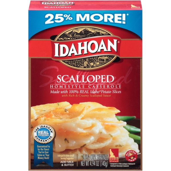 Idahoan Scalloped Homestyle Casserole
