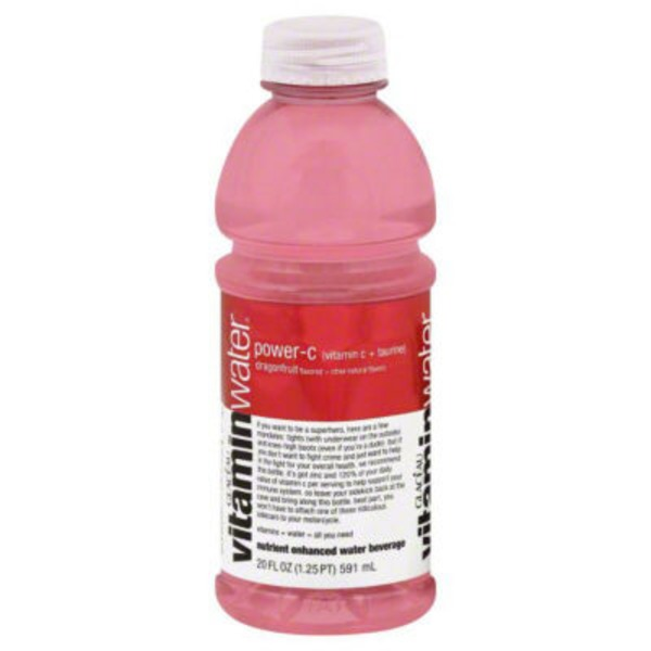Glaceau Vitaminwater Power-C Dragonfruit Nutrient Enhanced Water Beverage