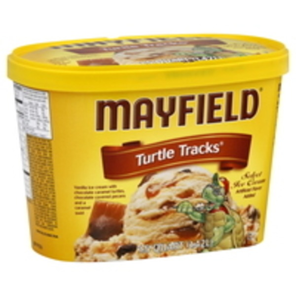 Mayfield Turtle Tracks Select Ice Cream