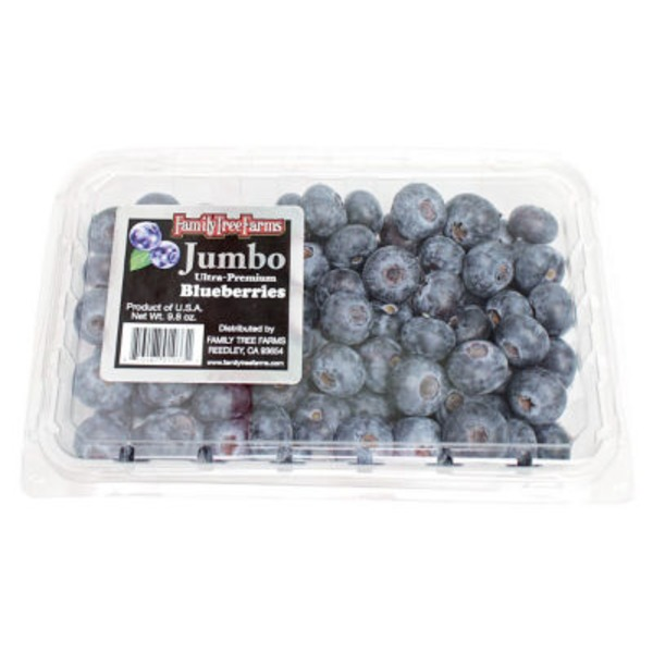 Family Tree Farms Blueberries Package
