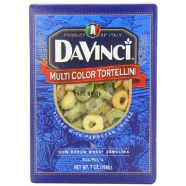 DaVinci Egg Pasta, Multi Color Tortellini
