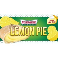 Krispy Kreme Glazed Lemon Pie