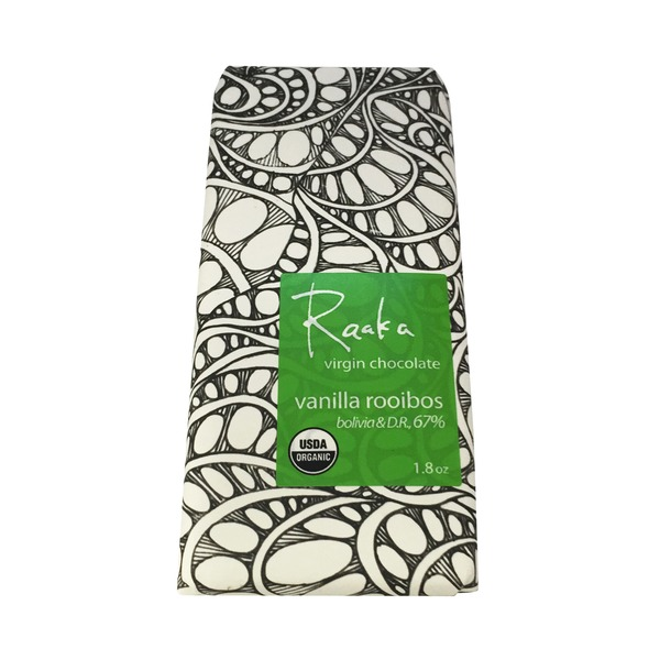 Raaka Vanilla Rooibos 67% Chocolate Bar