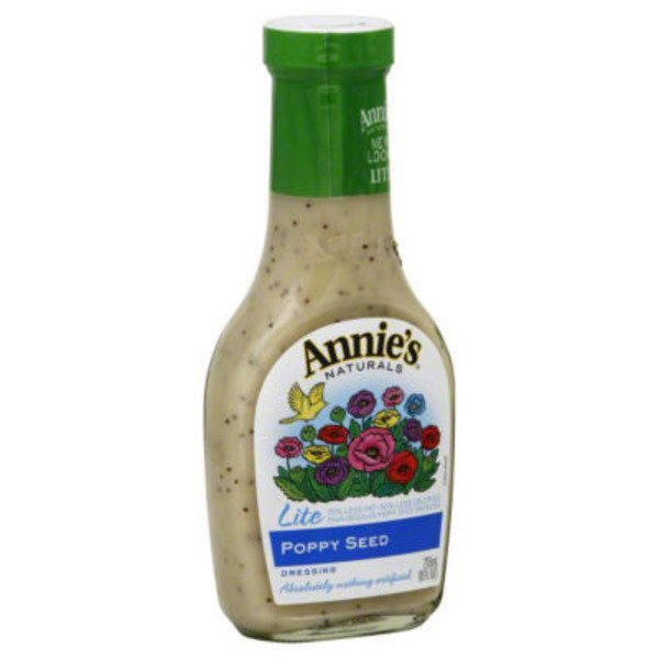 Annie's Homegrown Lite Poppy Seed Dressing Lite