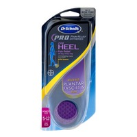 Dr. Scholl's P.R.O. Pain Relief Orthotics For Heel Women's Size 5-12