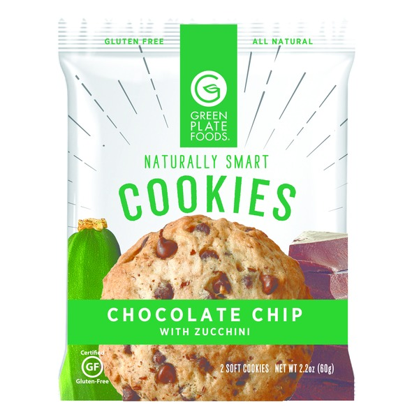 Green Plate Foods Cookie Chocolate Chip With Zucchini