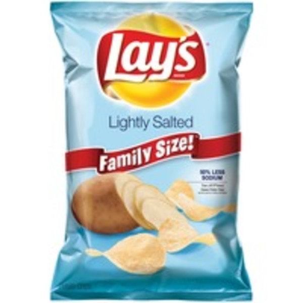 Lay's Lightly Salted Potato Chips