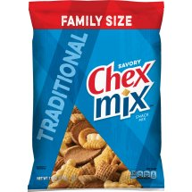 Chex Mix Traditional Savory Snack Mix, 15 oz, 15.0 OZ