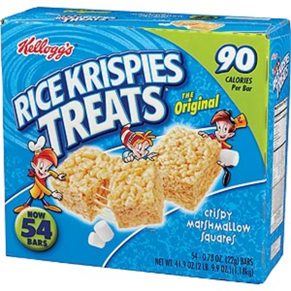 Kellogg's Rice Krispies Treats The Original Crispy Marshmallow Squares