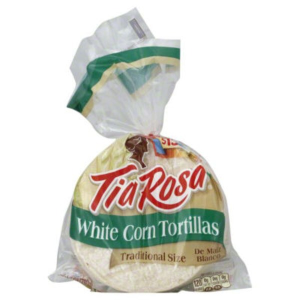 Tia Rosa White Corn Tortillas