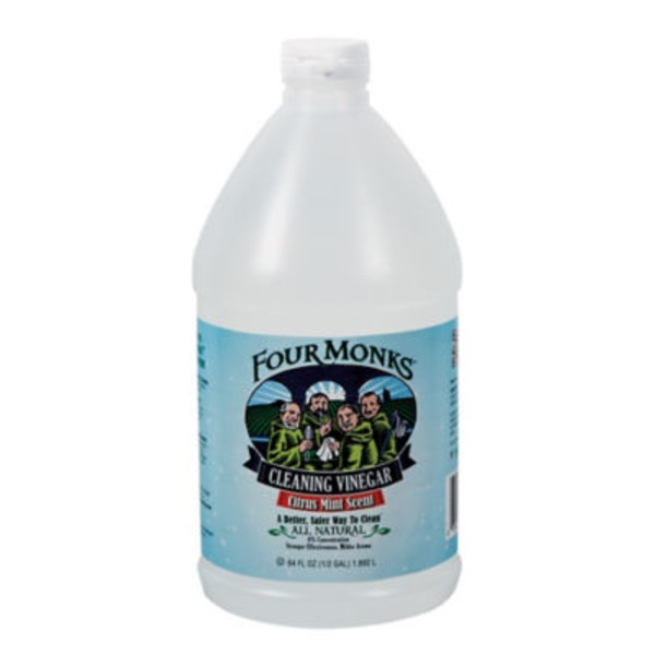 Four Monks Citrus Mint Scent Cleaning Vinegar
