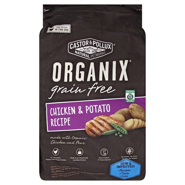 Organix Dog Food, Grain Free, Chicken & Potato Recipe, Adult