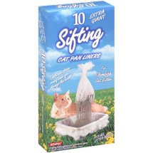 Alfapet Extra Giant Sifting Cat Pan Liners, 10 ct