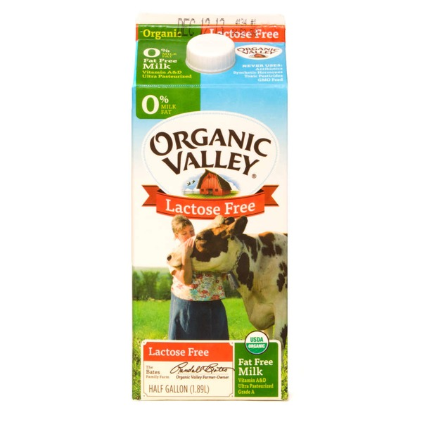 Organic Valley Lactose Free Fat Free Milk