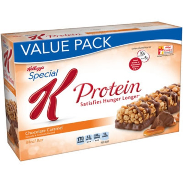 Kellogg's Special K Protein Chocolate Caramel Meal Bars