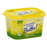 I Cant Believe Its Not Butter Light Spread Tub