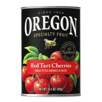 Oregon Fruit Products Pitted Red Tart in Water Cherries