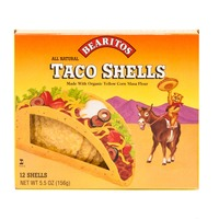 Bearitos Organic Yellow Corn Taco Shells