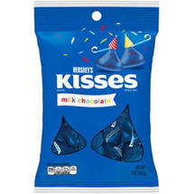 Kisses Birthday Milk Chocolates Candy Blue
