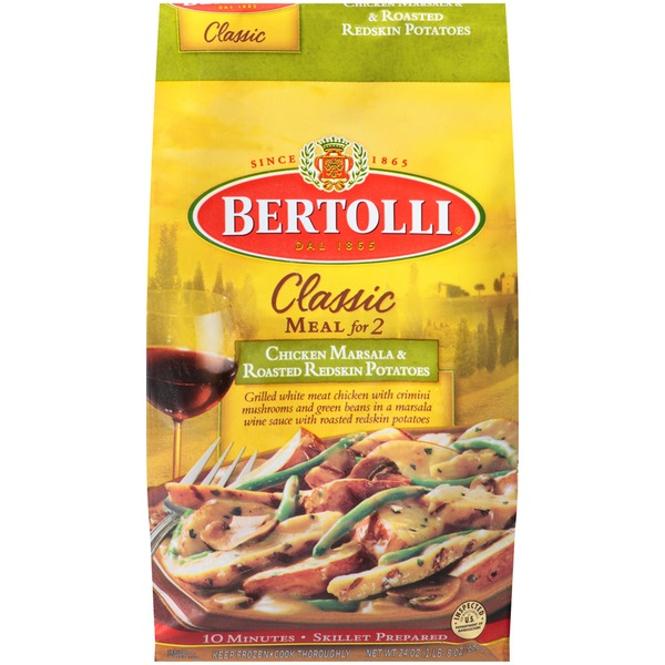Bertolli Chicken Marsala & Roasted Redskin Potatoes Classic Meal for 2