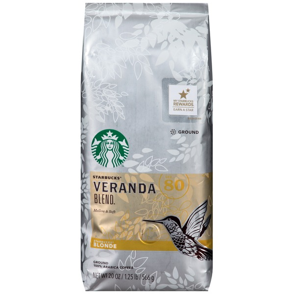 Starbucks Blonde Veranda Blend Ground Coffee