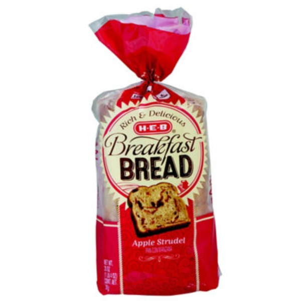 H-E-B Apple Strudel Breakfast Bread