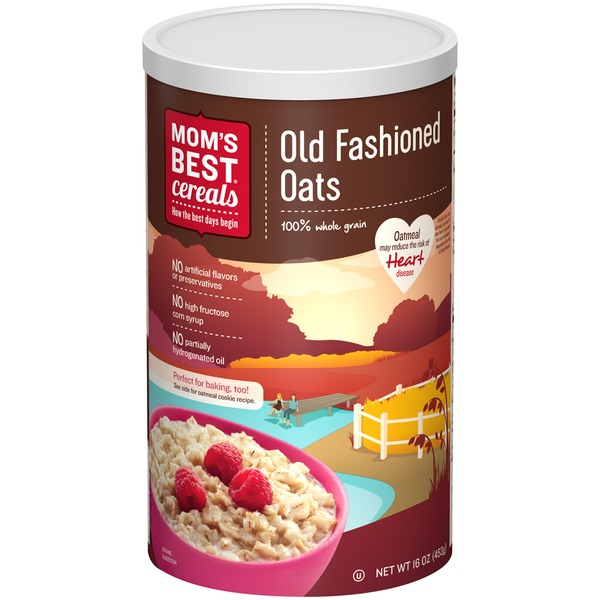 Mom's Best Cereals Old Fashioned Oats Hot Cereal