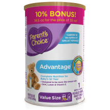 Parent's Choice Advantage Infant Formula with Iron, 35 oz