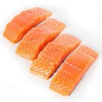 Fresh Premium Skinless Atlantic Salmon Fillets