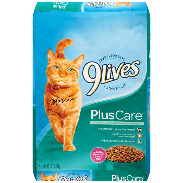 9 Lives Plus Care Plus Care Cat Food