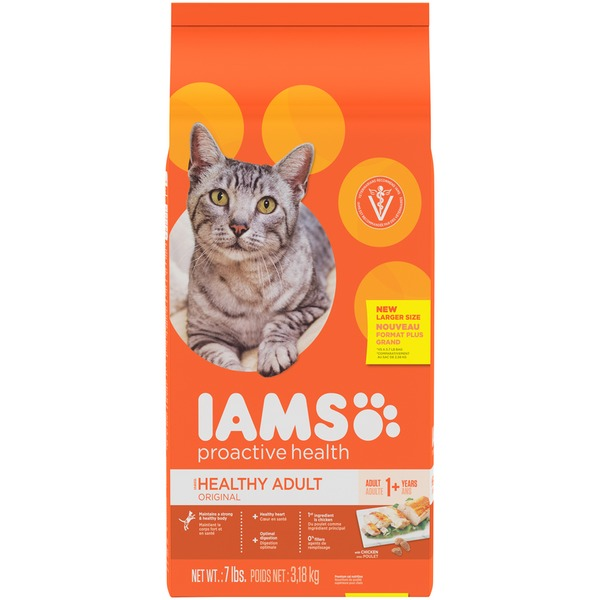 Iams Proactive Health Healthy Adult Original with Chicken Cat Food