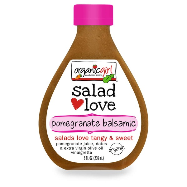 Organic Girl Salad Love Pomegranate Balsamic Vinaigrette