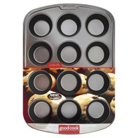 Good Cook Pro Muffin Pan 12 Cup Non Stick