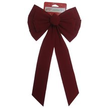 Holiday Time Red Long Tail Bow