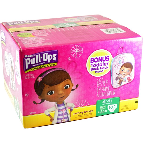 Huggies Pull Ups Boys/Girls Size 4T-5T