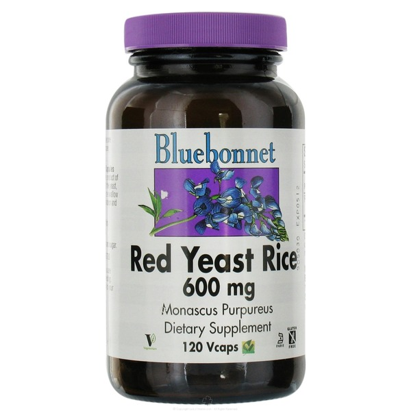 Bluebonnet Red Yeast Rice 600 Mg Vegetarian
