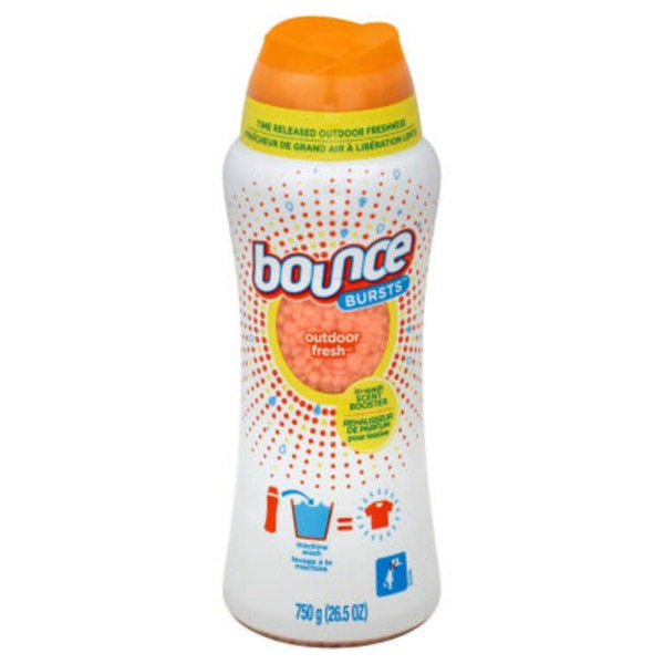 Bounce Bursts Bounce Bursts Scent Booster Outdoor Fresh 26.5 oz Fabric Enhancers