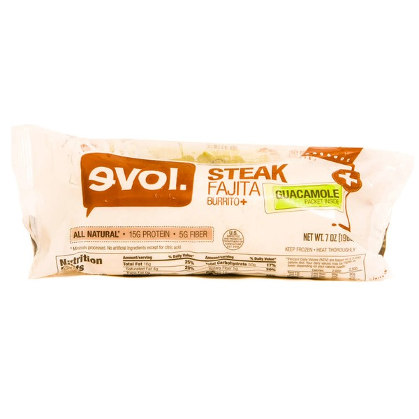 Evol Foods Steak Fajita Burrito