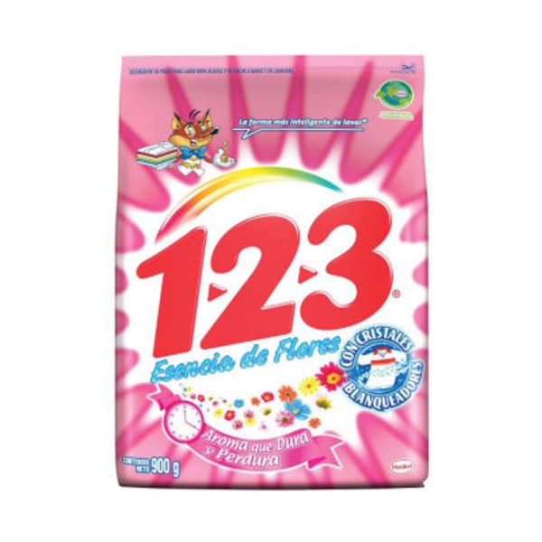 123 Esencia Flores Laundry Powder