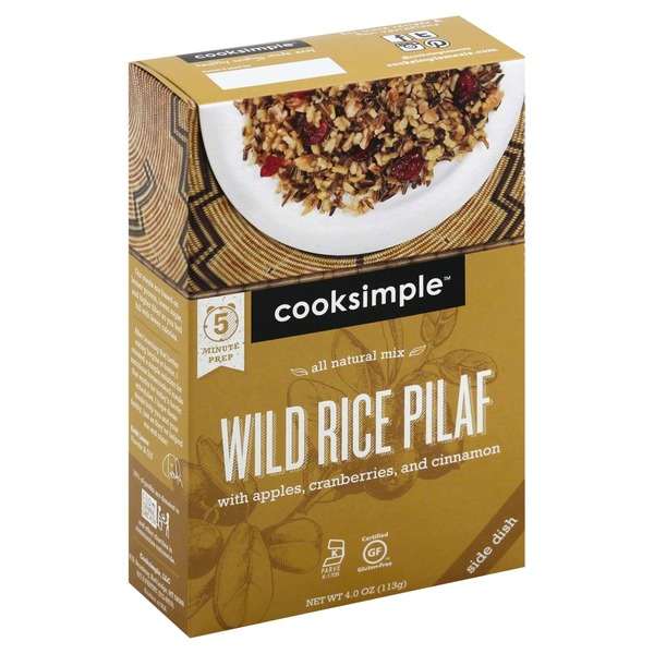 Cooksimple Wild Rice Pilaf