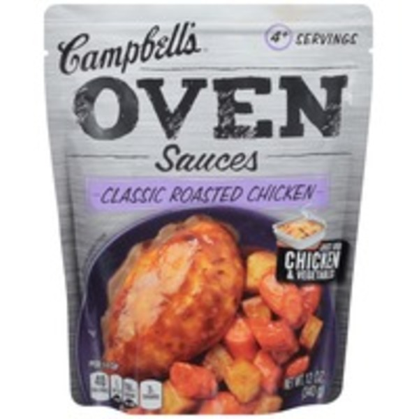 Campbell's Dinner Sauces Classic Roasted Chicken Oven Sauces