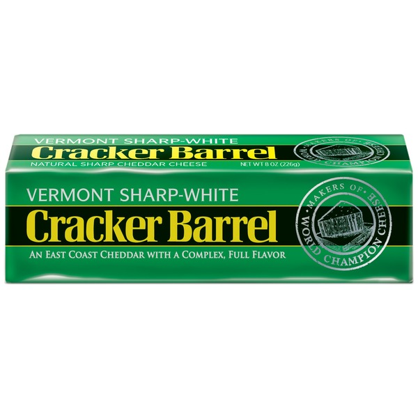 Cracker Barrel Vermont Sharp-White Cheddar Cheese