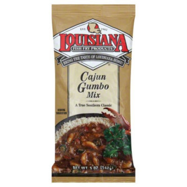 Louisiana Fish Fry Products Cajun Gumbo Mix