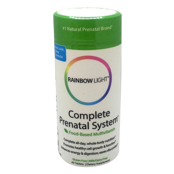 Rainbow Light Complete Prenatal System Food-Based Multivitamin