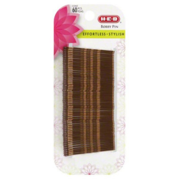 H-E-B Brown Bobby Pins