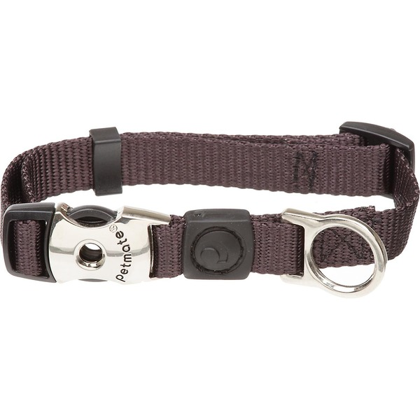 Petmate Adjustable Collar Coal 1