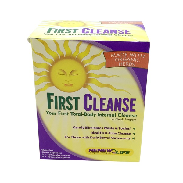 Renew Life First Cleanse 2 Week Program