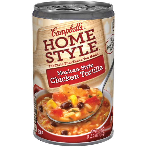 Campbell's Homestyle Mexican-Style Chicken Tortilla Soup