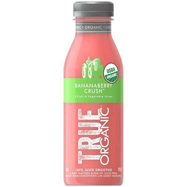True Organic Bananaberry Crush 100% Juice Smoothie